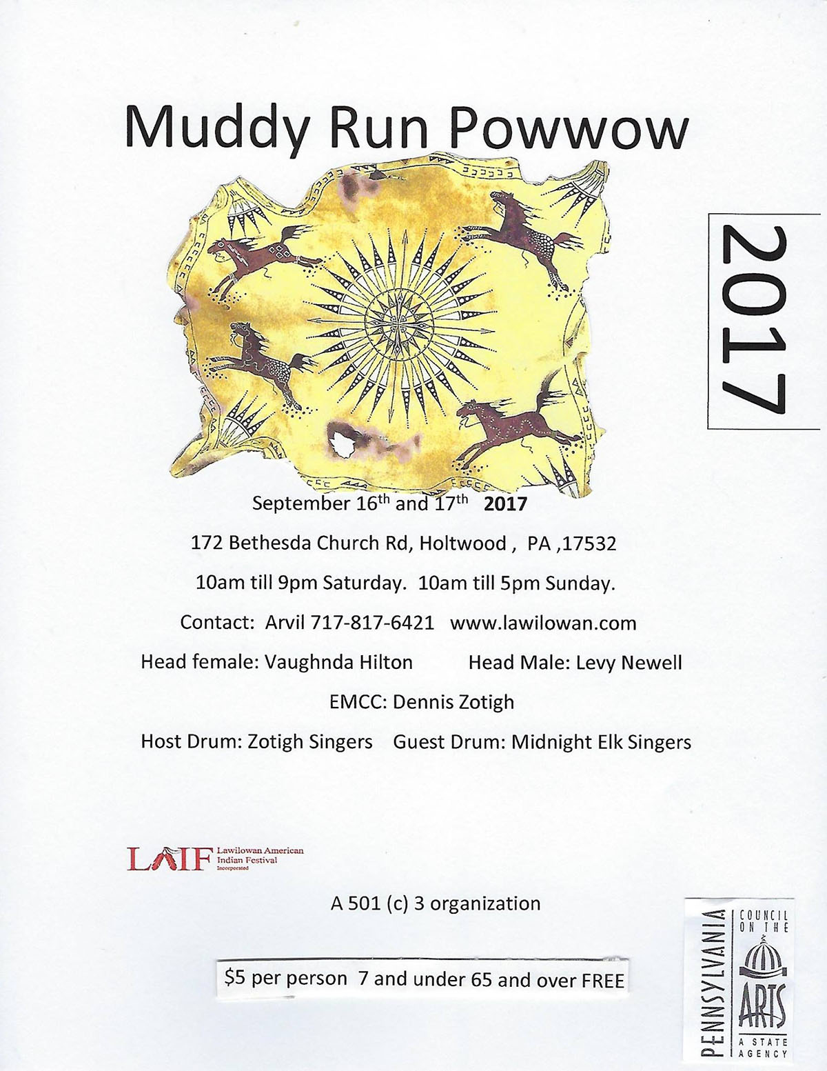 Muddy Run 2017