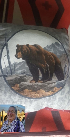 Bear Pillow from Ruth Pie