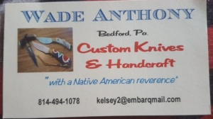 Wade Anthony Custom Knives