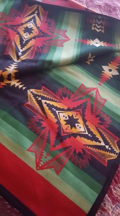 64 x 80 wool blanket